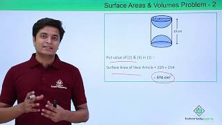 Class 10th - Example 2 of Surface Areas and Volumes