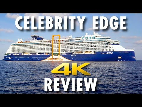 Celebrity Edge Tour & Review ~ Celebrity Cruises ~ Cruise Ship Tour & Review [4K Ultra HD]