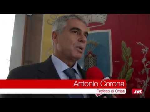 Intervista al Prefetto di Chieti Antonio Corona sulla sicurezza del territorio