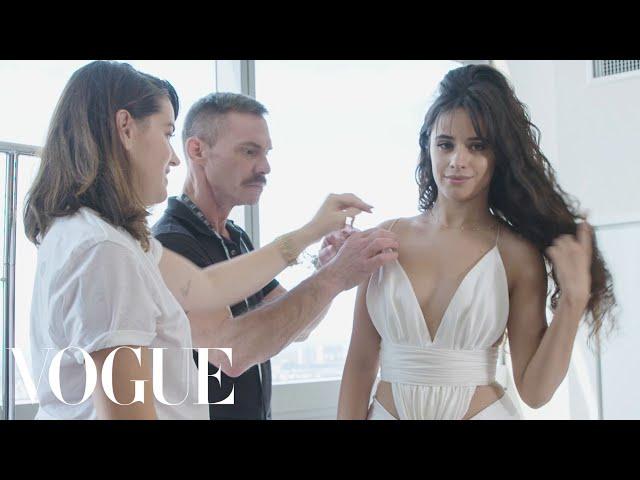 Camila Cabello Gets Ready for the VMAs | Vogue