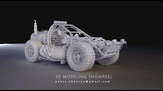 3D MODELING SHOWREEL