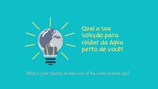 Qual a sua solução para cuidar da água perto de você ? (English Subtitle)