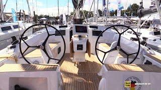 2017 Hanse 415 Sailing Yacht - Deck And Interior Walkaround - 2016 Annapolis Sailboat Show