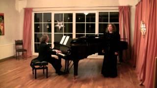 Ich steh an deiner Krippen hier (BWV 469); J. S. Bach; Martina Vormann-Sauer, Sopran