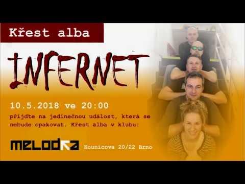 Infernet - INFERNET pozvánka na křest alba