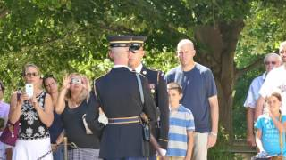 Best Video of the Changing of the Guard at Tomb of the Unknowns, Arlington Cemetery