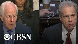 IG report hearing part 7: Senators question Michael Horowitz