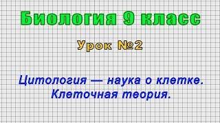 Биология 9 класс Урок 2