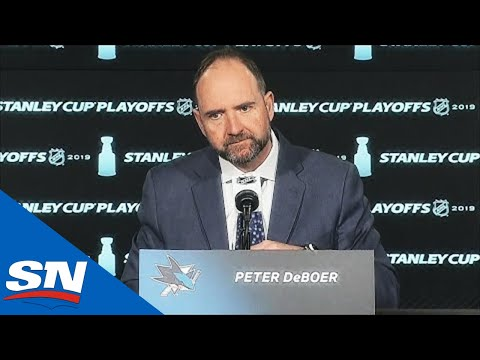 Peter DeBoer Comments After Sharks Elimination In Stanley Cup Playoffs