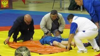 открытый всероссийский турнир по борьбе самбо среди юношей 2001-2000 г.р Саратов ФОК Звездный