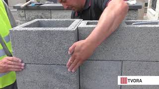 Fence Block Assembling Without Concrete Works