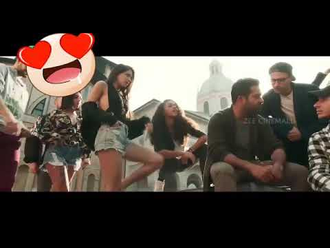 Jr NTR ARAVINDA SAMETHA IN ANANAGANAGA SONG