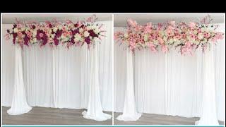 DIY -Elegant Backdrop Diy-Wedding Decor