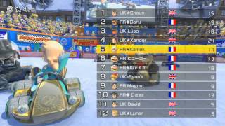 [MK8] World Cup 2014 : France vs. UK - Final Winners' Bracket (room 1)