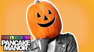 ORANGE SONG ♫ | HALLOWEEN Colors | Kids Songs | Pancake Manor