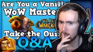 Asmongold Takes The Vanilla WoW Master Quiz With Mcconnell