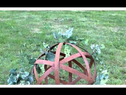 Gartendeko Aus Eisen Rost -  inspiration