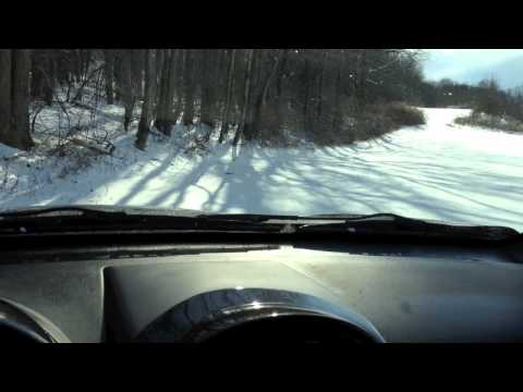 2005 Saturn VUE Red Line AWD in the snow