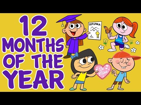 Ver vídeoLa Tele de ASSIDO - Inglés: Los meses del año