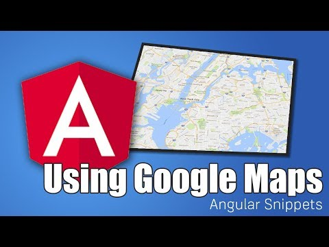 Getting started with Angular Google Maps (AGM)