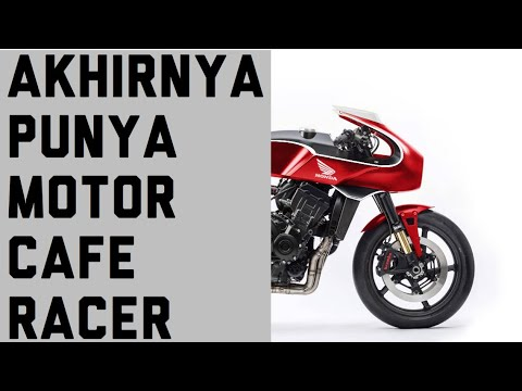 Nantang Den Dimas Custom Honda CBR250RR Cafe Racer