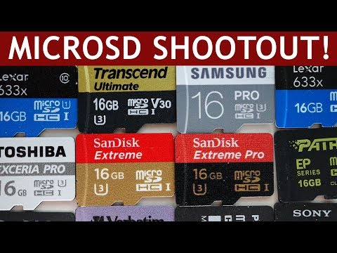 MicroSD Card Speed Test | Marketing vs. Reality