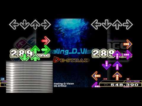 Video 【DDR】 Healing-D-Vision [SINGLE CHALLENGE] 譜面確認+クラップ (擬似サドプラ)
