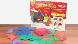 Magna-Tiles Clear Colors Set