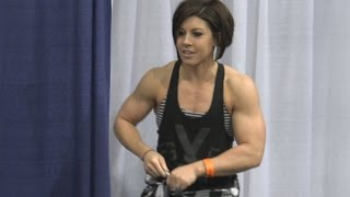 Dana Linn Bailey at the LA Fit Expo 2017