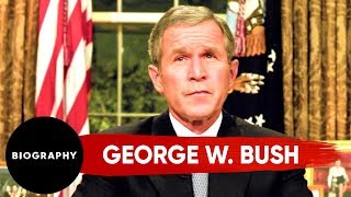 George W. Bush - The United States' 43rd President | Mini Bio | Biography