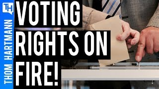 Is Trump Admin Turning up Heat on Voting Rights?
