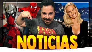 ¡Brutal! Deadpool 3 CONFIRMADA, ¿Capitana Marvel LESBIANA? QUICKSILVER en Wandavision y mucho +.