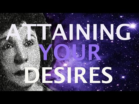 Attaining Your Desires - How Your Subconscious Mind Works For You - Genevieve Behrend