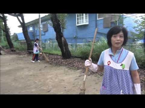 笠間 友部 ともべ幼稚園 子育て情報「児童公園の掃除」