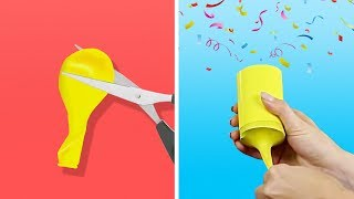 17 IDEAS FOR THE BEST PARTY EVER || DIY PARTY POPPERS