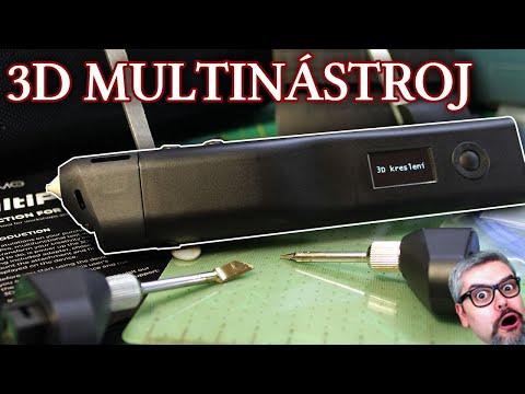 3Dsimo MultiPro - pokrok v multinástroji. Unboxing a recenze.