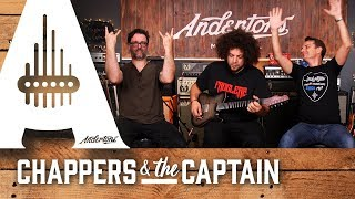 Rabea Massaad Signature Guitars With Chappers And The Captain!