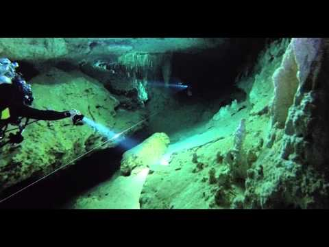 Cave Diving Pet Cemetery Cenote to the Blue Abyss, Riviera Maya, Mexico