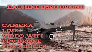 Eachine E520S Low Cost GPS Drone with 4K Camera - Mavic Mini Clone, Smart FPV Quadcopter FULL REVIEW