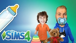 Sims 4 | YOUTUBER TODDLERS! | Stampy & Squid!