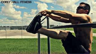 Advanced Calisthenic workout by Corey Hall