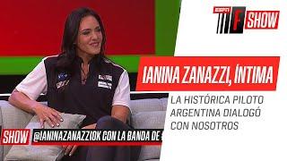 ¡IMPERDIBLE entrevista con Ianina #Zanazzi! #ESPNFShow