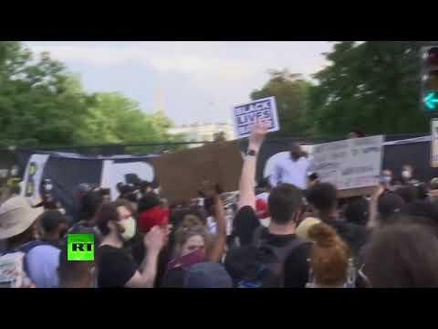 Floyd protest in Washington DC