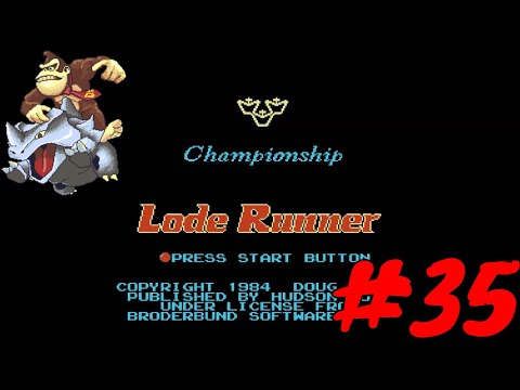 Championship Lode Runner   The Nintendo Journey #35   NES