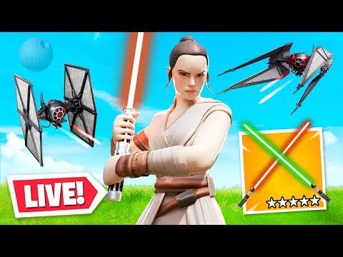 star wars x fortnite live event