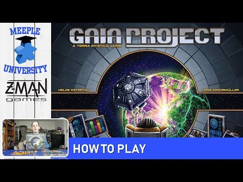 Gaia Project Board Game – How to Play (Full Rules)