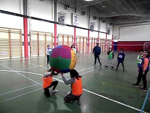 KIN-BALL EN EDUCACIÓN FÍSICA. CRA EL JALÓN