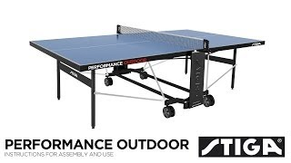 Performance Outdoor assembly instructions