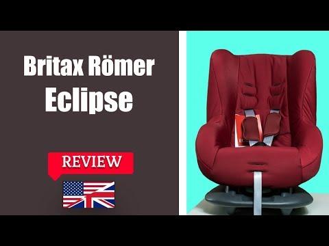 Britax Romer Eclipse - Child Car Seat FULL Review