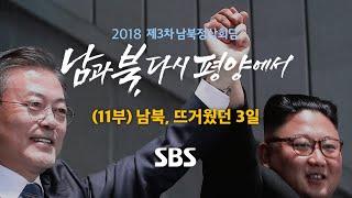 제3차 남북정상회담 특별 생방송 (11부) SBS LIVE